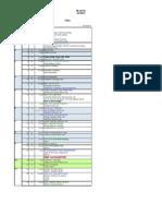 Schedule 2013 A