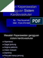 ASKEP KARDIOVASKULER