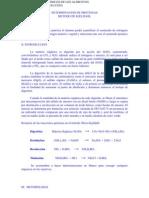 Determinacion de Proteina1