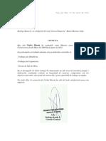 Carta de Recomendacion Carlos Huerta