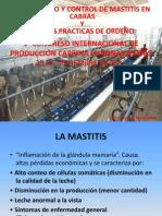 DIAGNÓSTICO Y CONTROL DE MASTITIS EN CABRAS
