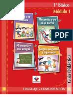 Guía Didáctica del profesor 1° Lenguaje y Comunicación
