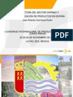 ESTRUCTURA DEL SECTOR CAPRINO Y COMERCIALIZACION DE PRODUCTOS EN ESPAÑA