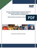 Manual_de_Estudio_de_Factibildad (Credito BNF Desde $100.001 a $300.000) - MNTUR