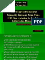 Mercado y Perspectivas Productivas de La Caprinocultura en Mexico