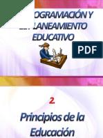 2 Principios de La Educacion