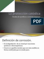 La protección catódica