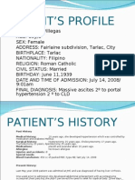Patient Profile and History