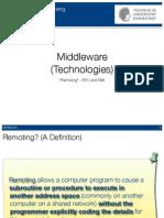 2 Middleware RPC RMI