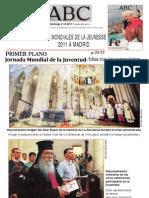 2011-08-21 dimanche - Père Samuel aux JMJ à Madrid