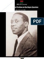 Revolutionary Position on the Negro Question Harry Haywood