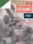 Army Combat Lessons ~ Jun 1944