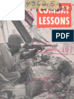Army Combat Lessons ~ Jun 1944