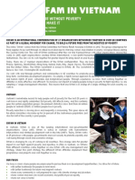 0609 Oxfam in Vietnam Fact Sheet