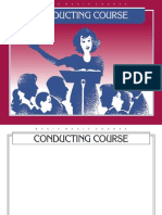Conducting Course