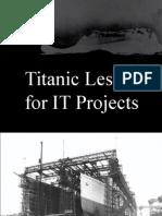 Titanic LezioneDellaStoria