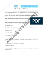 Engineering Writing on Differential Usage and Working