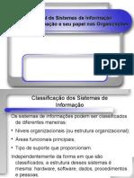 Sistemas de Informação e seu papel nas Organizações