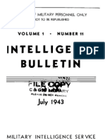 Intelligence Bulletin ~ Jul 1943