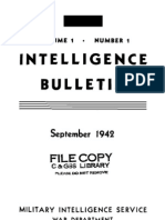Intelligence Bulletin ~ Sep 1942