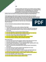 Daftar Universitas Dengan Jurusan Teknik Lingkungan