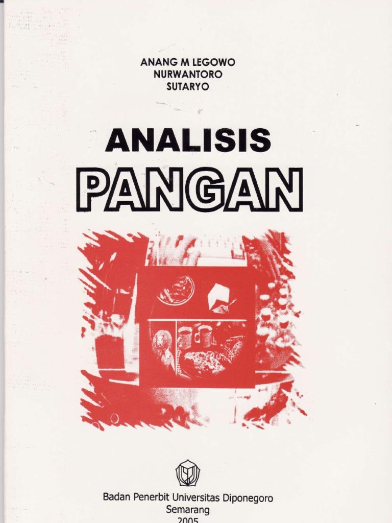 buku analisis pangan andarwulan pdf