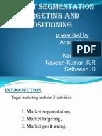 segmentation of market