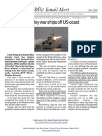 220 - Iran Plans to Deploy War Ships Off US Coast