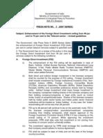 Press Note No.3-2007 Series