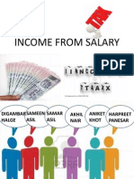 Income From Salary