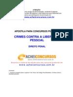 Apostila de Crimes contra a Liberdade Pessoal