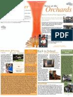 Orchards at Foxcrest Newsletter  Sept 2012