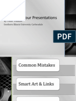 Animating Your Presentation
