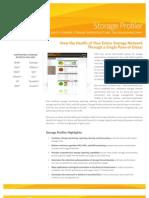 SolarWinds Storage Profiler Datasheet