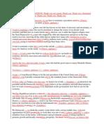 Document Compare - Bill Clinton