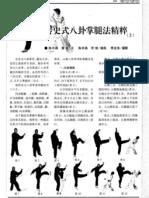 Shishi Yangchuan Baguazhang Tuifa Jingcui.Chen Zhongyan