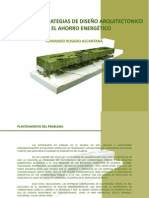 Expo Catalogo De Estrategias De Diseño Arquitectonico Para El Ahorro Energetico