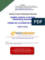 Apostila de Crimes contra o Sistema Financeiro Nacional e de Lavagem de Dinheiro