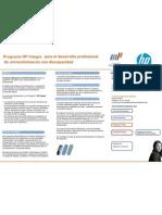 Programa HP Integra para el desarrollo profesional de universitarias/os con discapacidad (septiembre 2012)