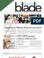 washingtonblade.com - volume 43, issue 46 - september 7, 2012