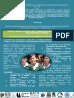 Cartel Primer Congreso Nacional sobre la Enseñanza de la Filosofía en la Educación Media Superior