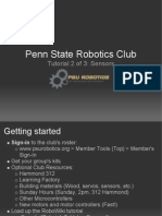 Arduino PSU Robotics Club Tutorial 2 of 3 - Sensors_Sp