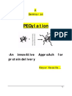 Seminar on Pegylation