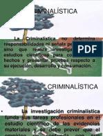 CONCEPTOS BÁSICOS DE CRIMINALISTICA