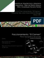 Ejercicio Fraccionamiento Arq Julio CGR FINAL 25 Mayo