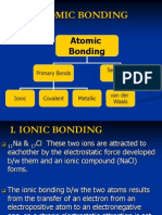 3. Interatomic Bonding