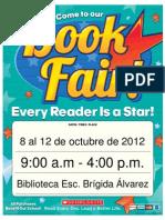 81005 Allstar Book Fair Flyer