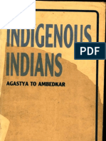 Indigenous Indians Agastya to Ambedkar - Koenraad Elst