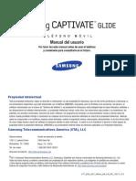 ATT SGH-i927 Captivate Glide Spanish User Manual
