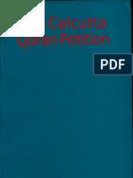 The Calcutta Quran Petition - Sita Ram Goel